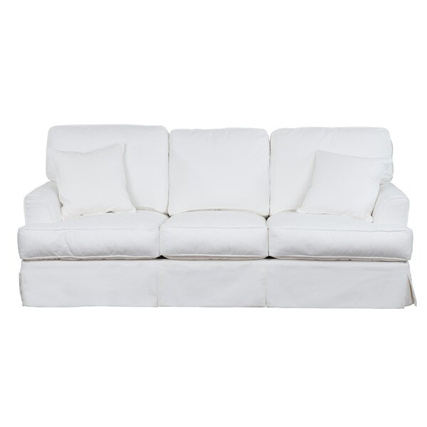 Elenora Slipcovered Sofa by Highland Dunes