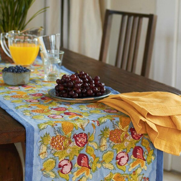 Tutti Frutti Table Runner by Couleur Nature