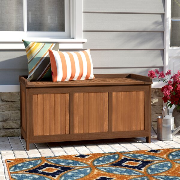 Aanya Outdoor 65 Gallon Wood Deck Box by Sol 72 Outdoor Sol 72 Outdoor