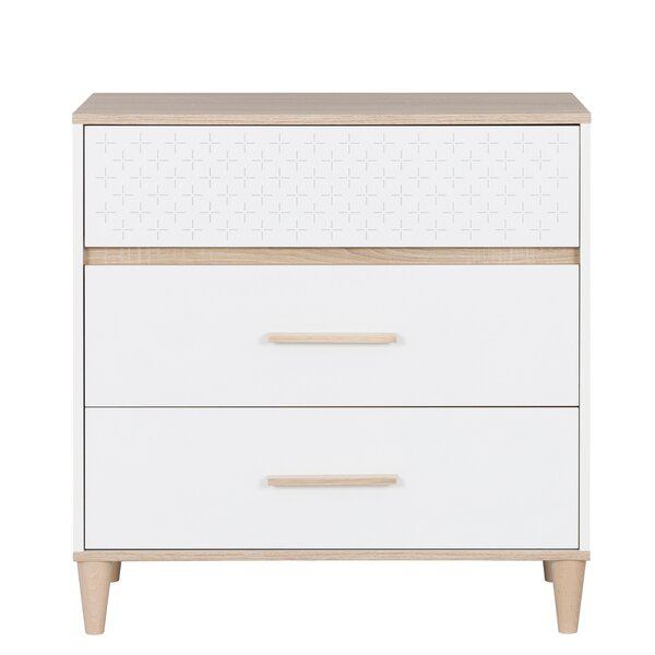 Thibodeaux Plus 3 Drawer Bachelors Chest by Ivy Bronx