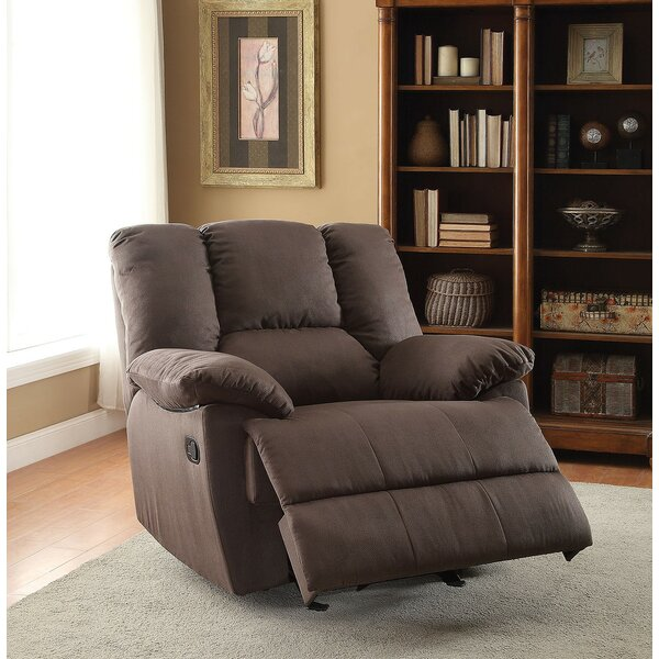 Fenway Manual Glider Recliner by A&J Homes Studio