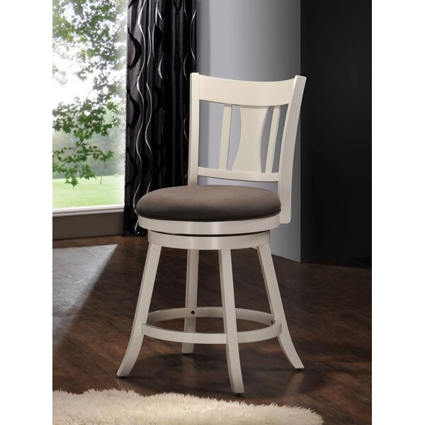 Kashton 24 Swivel Bar Stool by Darby Home Co