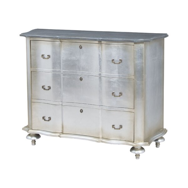 Amberella 3 Drawer Standard Dresser by House of Hampton