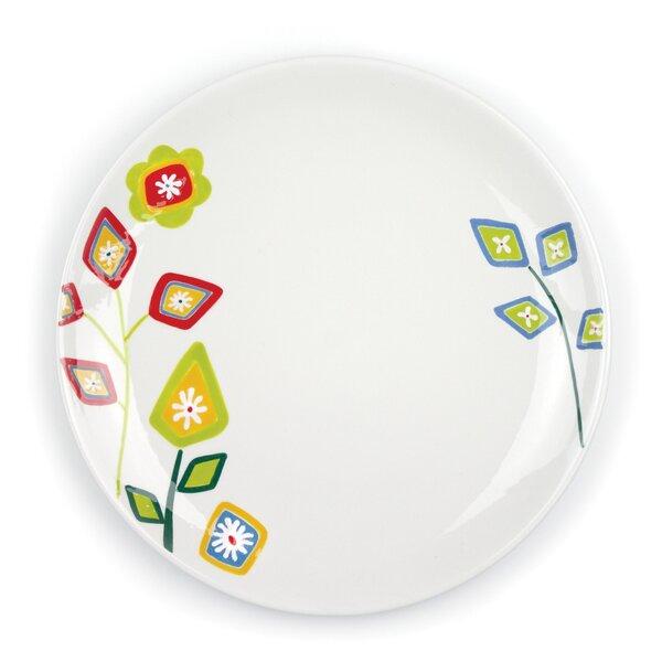 Jardin Matisse 10.5 Multi Dinner Plate (Set of 4) by Omniware