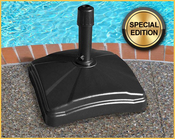 Lilian Rolling Resin Free Standing Umbrella Base by Freeport Park