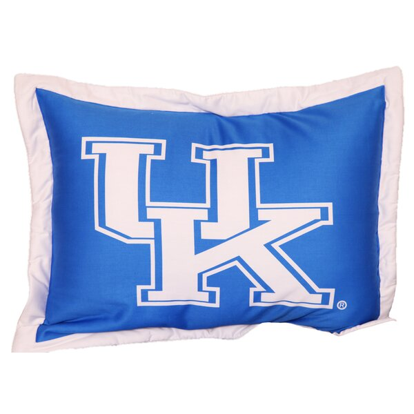 NCAA Kentucky Pillow Sham by College Covers