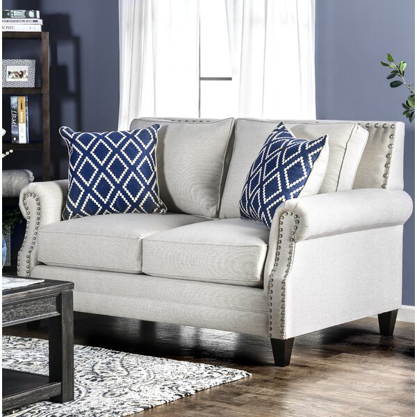 Buda Contemporary Loveseat by Darby Home Co