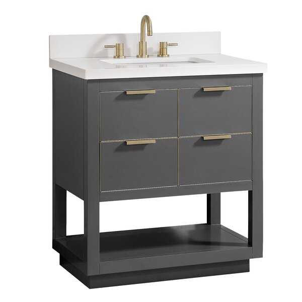 Fincher 30 Single Bathroom Vanity Set by Everly Quinn