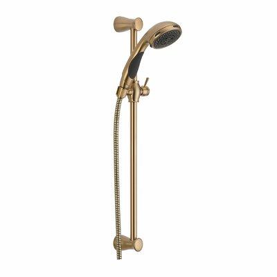 Delta Slide Bar Hand Shower Dual Faucet Trim Bronze Shower Heads