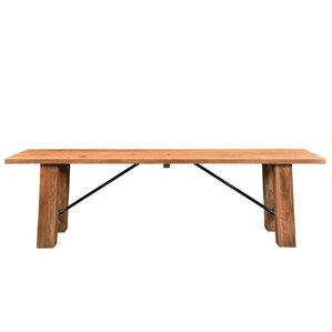 Mill Valley Acacia Wood Bench by Loon Peak