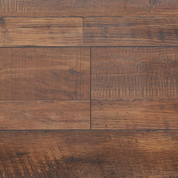 8 x 48 x 12.3mm  Laminate Flooring in Vintage Copper (Set of 22) by Serradon