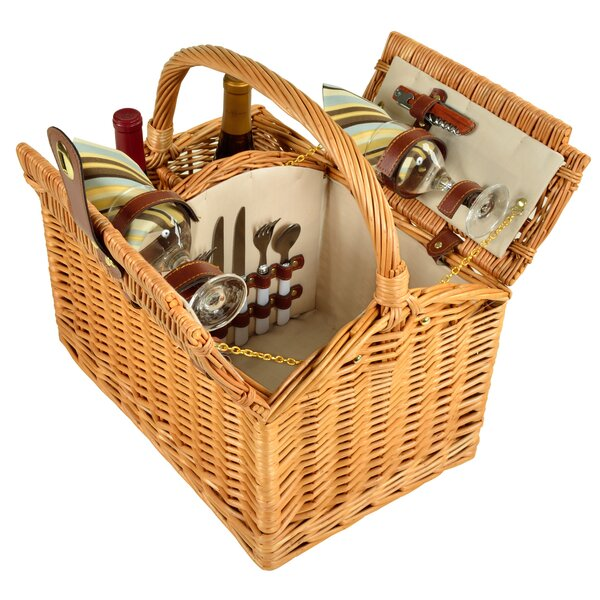 2 Person Picnic Basket by Freeport Park