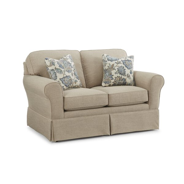 Kaylin Skirted Loveseat by Alcott Hill