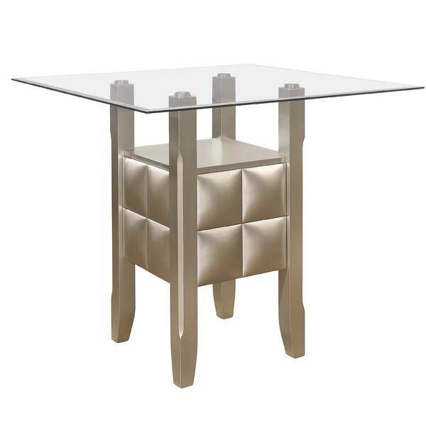 Kerley Bar Height Dining Table by Ivy Bronx Ivy Bronx