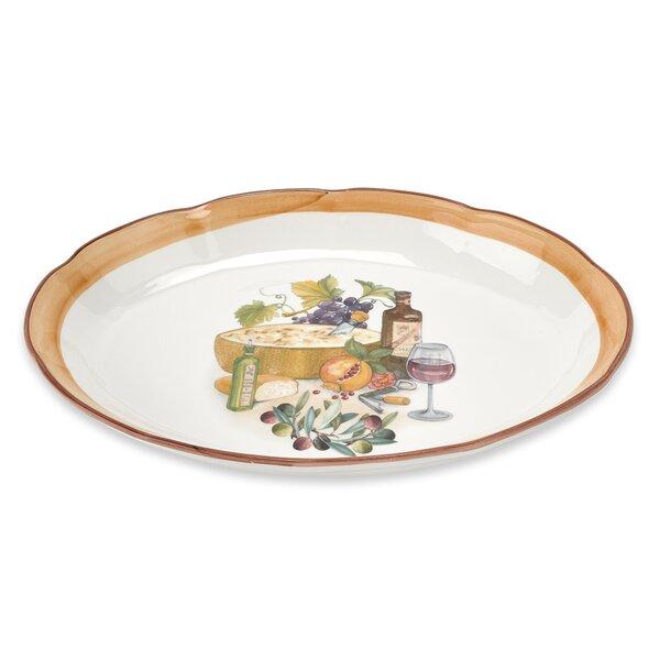 Mona Lisa 16 Oval Platter by Lorren Home Trends