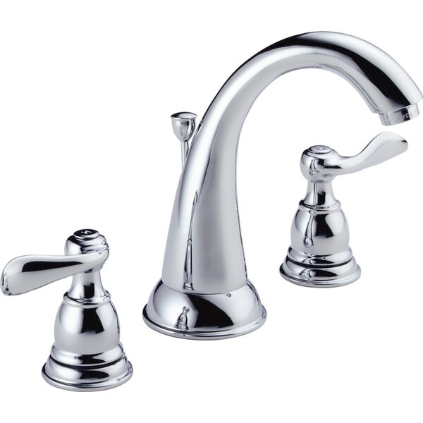 Windemere Widespread Bathroom Faucet with Drain As
