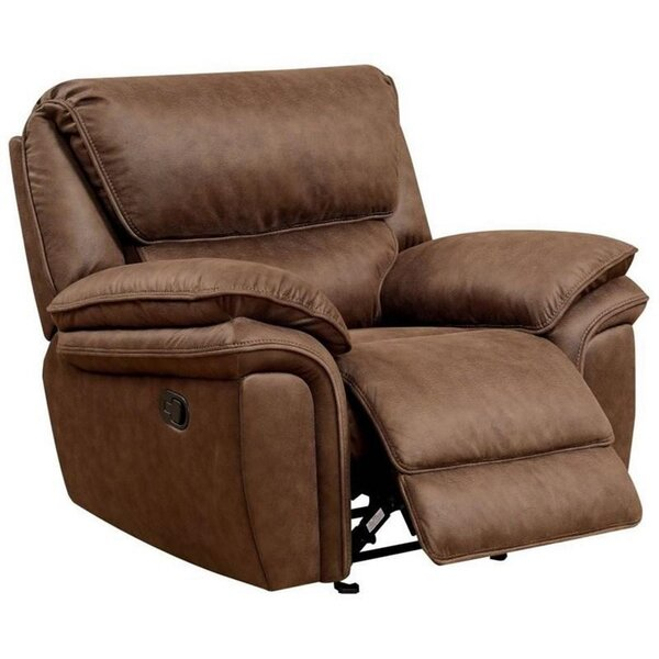 Londrea Faux Leather Glider Recliner W002885461
