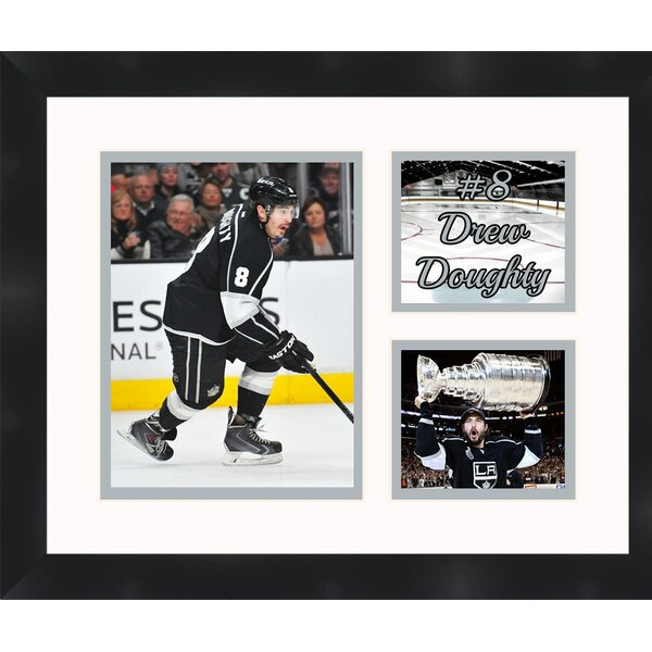 Drew Doughtry 8 Los Angeles Kings 2012 Stanley Cup Champions Photo Collage Framed Photographic Print by Frames By Mail