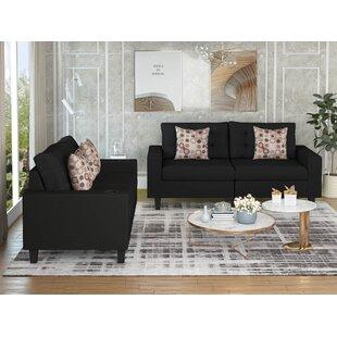 Irvina 2 Piece Living Room Set by Latitude Run®