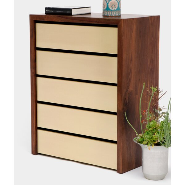 SQM 5 Drawers Chest by ARTLESS