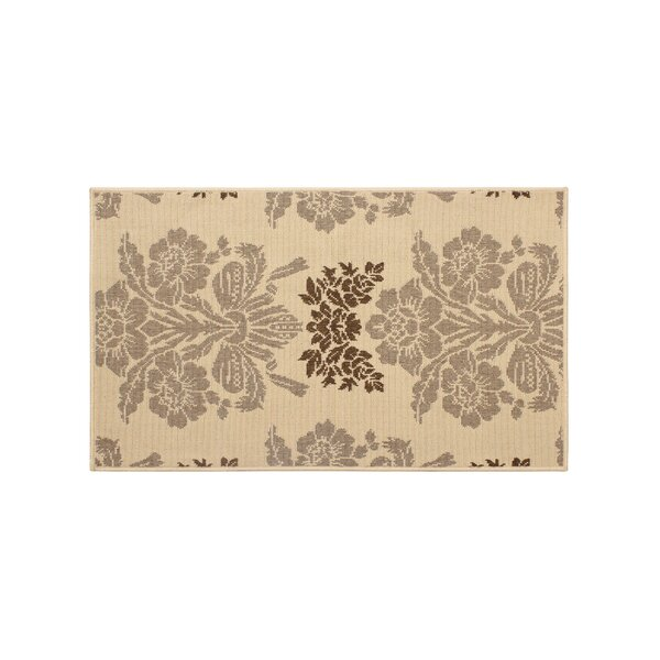 Jaya Tatton Taupe/Beige Indoor/Outdoor Area Rug by Laura Ashley