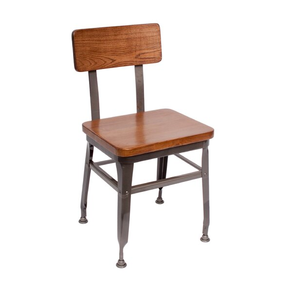 Lincoln Industrial Dining Chair by BFM Seating