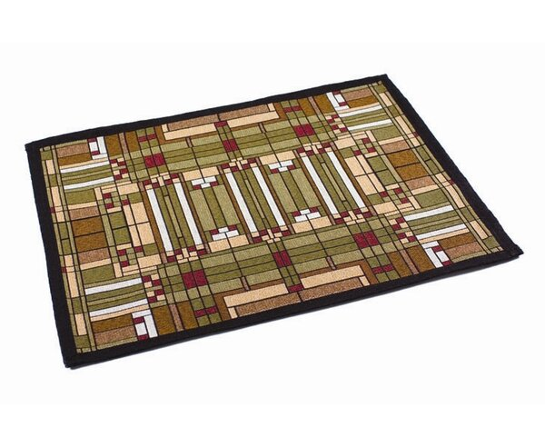 Frank Lloyd Wright ® Skylight Window Placemat (Set of 4) by Rennie & Rose Design Group