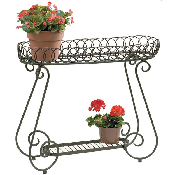 Oval Ring Plant Stand by Deer Park Ironworks