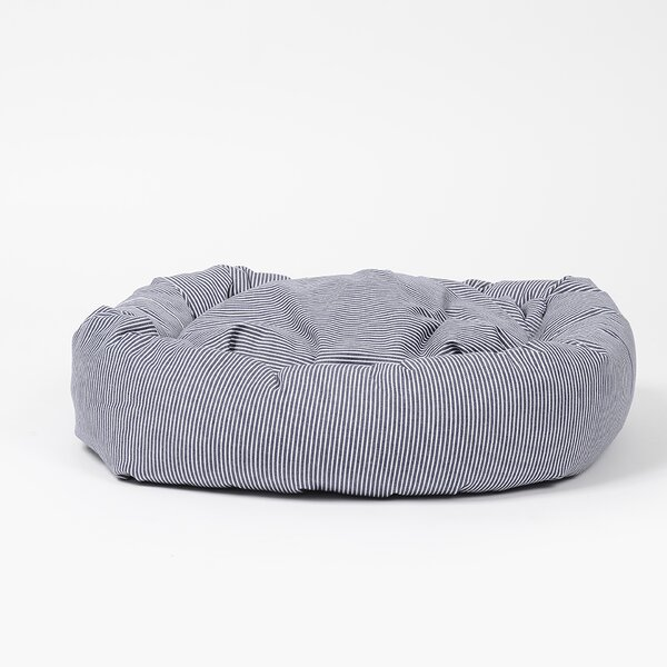 Normand Stripe Snuggler Bolster by Tucker Murphy Pet