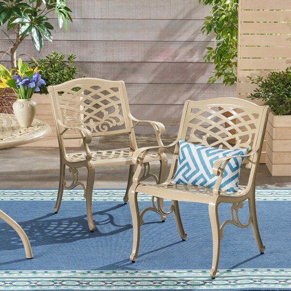 Fason Patio Chair (Set of 2) by Ophelia & Co.