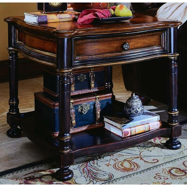 Preston Ridge End Table with Storage by Hooker Furniture