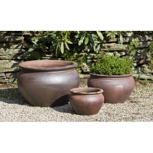 Moll 3-Piece Terracotta Pot Planter Set by Red Barrel Studio