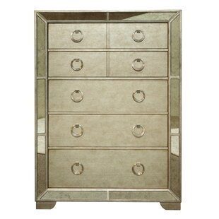 Halstead 5 Drawer Chest by House of Hampton