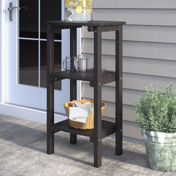 Sawyerville Plastic/Resin Side Table by Laurel Foundry Modern Farmhouse