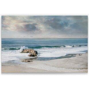 iCanvasART 3 Piece Gorgonia Miniacea on Linen Sea Foam Canvas Print by Wild Apple Portfolio 60 x 40 x 0.75-Inch