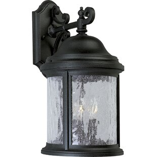Best Reviews Drumakeely 3-Light Outdoor Wall Lantern By Alcott Hill