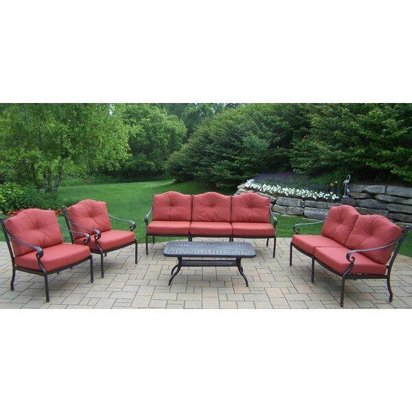 Robicheaux 5 Piece Sofa Set with Cushions by Fleur De Lis Living