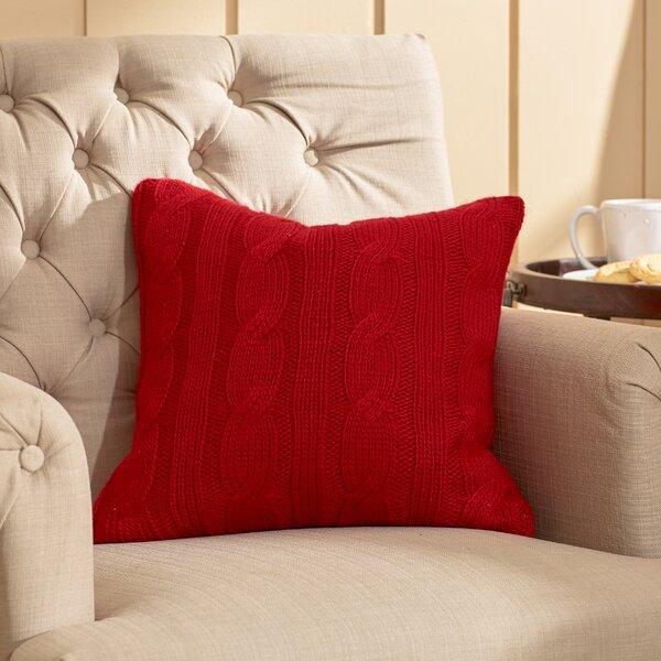 Davis Throw Pillow by Three Posts