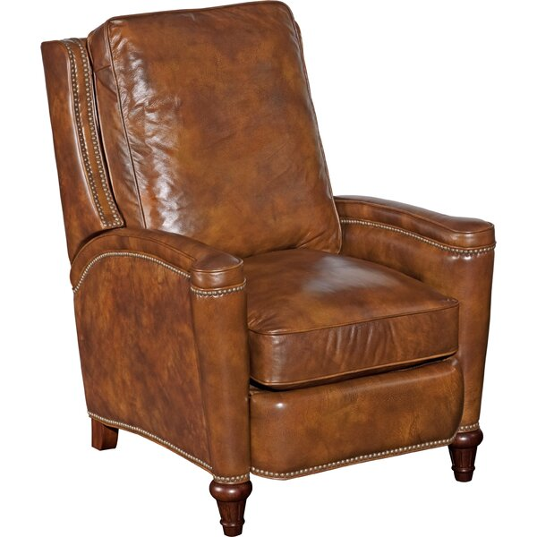 Sales Patrice Leather Manual Recliner