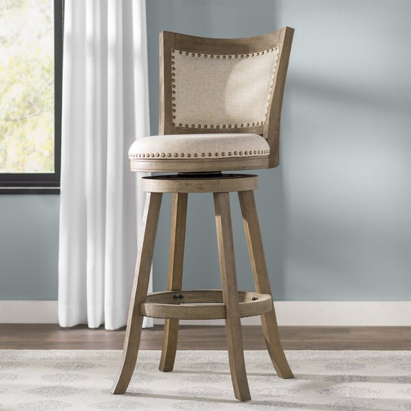 Guilford 29 Swivel Bar Stool by Greyleigh
