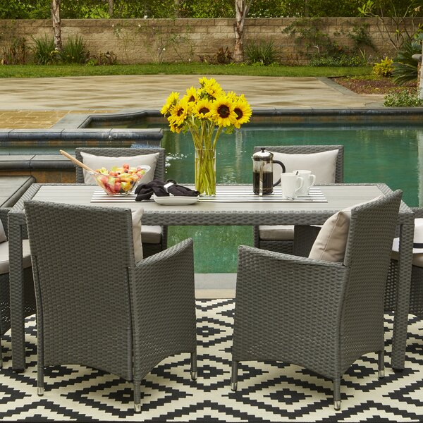 Resin Outdoor Dining Table Wayfair