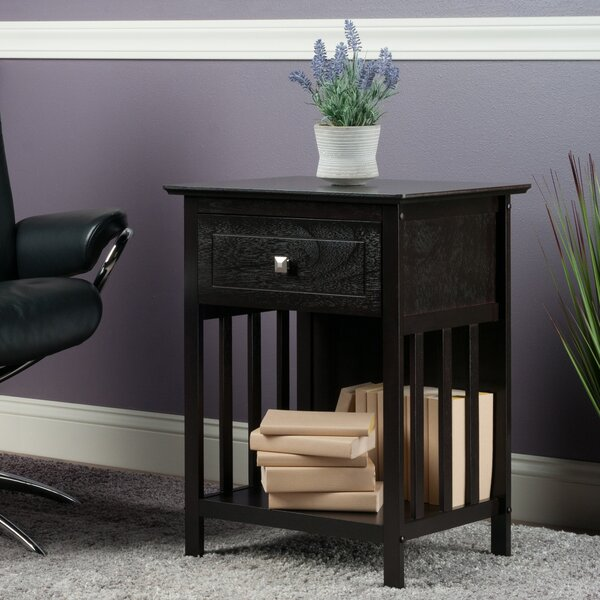 Richerson End Table With Storage By Charlton Home