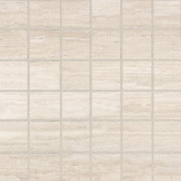 Toscano 2 x 2 Porcelain Mosaic Tile in Classico