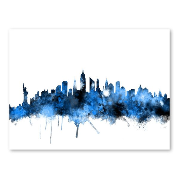 New York Skyline Wall Mural by Americanflat