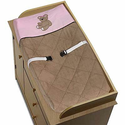 Teddy Bear Changing Pad Cover by Sweet Jojo Designs