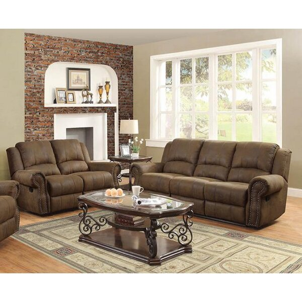 Haslingden 2 Piece Reclining Living Room Set by Darby Home Co