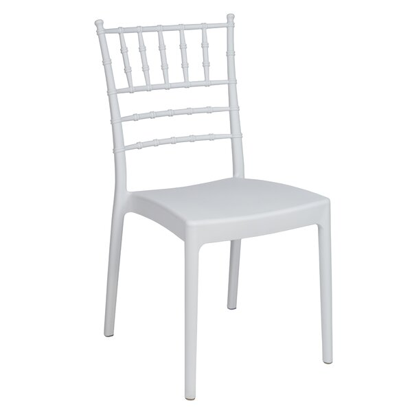 Josephine Stacking Patio Dining Chair (Set of 2) by Resol Grupo