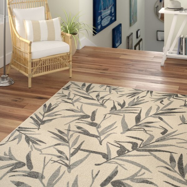 Higgs Beige/Anthracite Area Rug by Beachcrest Home