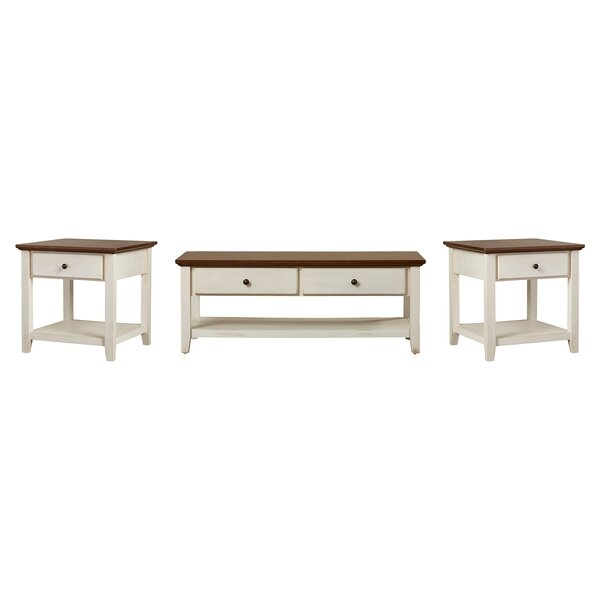 Willow 3 Piece Coffee Table Set By Beachcrest Home