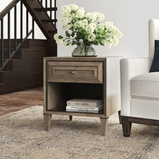 Ariana Verona Rectangular End Table with Storage